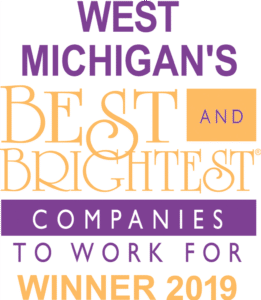 West Michigan's Best and Brightest Companies to Work For Winner 2019 Logo