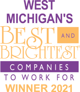 West Michigan's Best and Brightest Companies to Work For Winner 2021 Logo