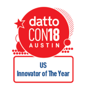 Datto CON18 US Innovator of The Year Logo