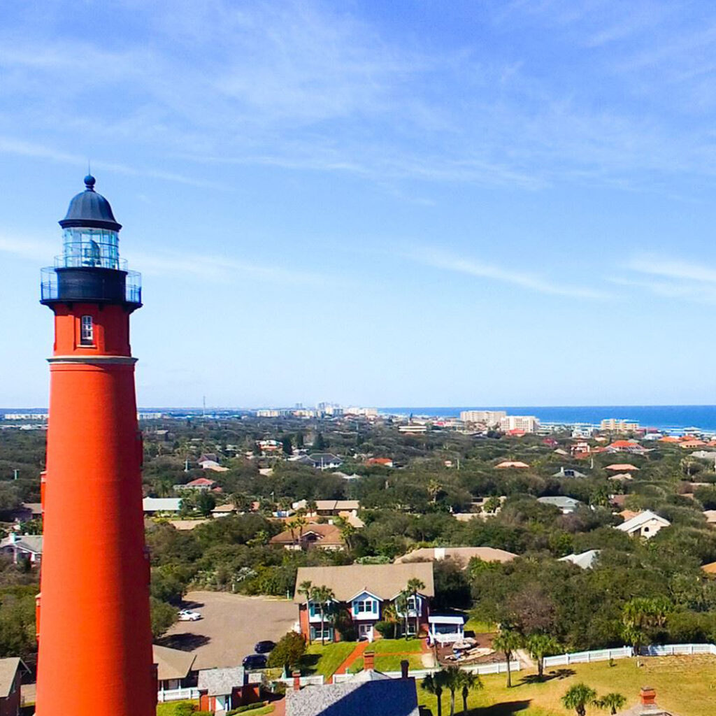 Lighthouse in Ponce Inlet Florida